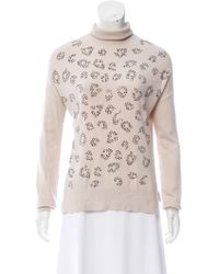 Karen Millen Jewel-Accented Turtleneck Sweater Cost For Sale Fast Delivery Cheap Online Sale Nicekicks Free Shipping Really zE4fAL9yY