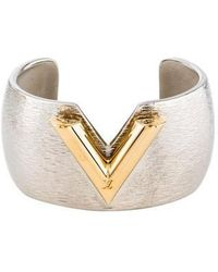 Louis Vuitton - Essential V Colorama Cuff Gold - Lyst