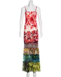 Jean Paul Gaultier - Sleeveless Maxi Dress W/ Tags Pattern Prints - Lyst