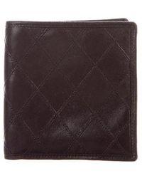 200f3ea5c4b35c Lyst - Chanel Caviar Quilted L-zip Wallet Black in Metallic for Men