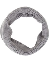 UGG - Rib Knit Snood Grey - Lyst