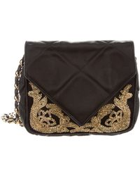 Chanel - Vintage Beaded Evening Bag Black - Lyst