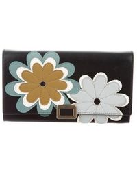 Roger Vivier - Floral Leather Wallet W/ Tags - Lyst
