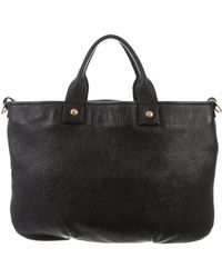 Clare V. - Grained Leather Bag Black - Lyst