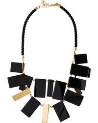 Kate Spade - Clean Break Necklace Gold - Lyst