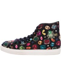 Charlotte Olympia - Printed High-top Sneakers - Lyst