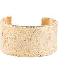 Tom Binns - Golden Rupture Cuff Gold - Lyst
