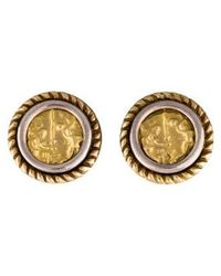 Tagliamonte - Two-tone Earclips Yellow - Lyst