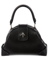 MANU Atelier - 2017 Demi Top Handle Bag Black - Lyst