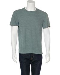 Simon Miller - Silk-blend Short Sleeve T-shirt - Lyst