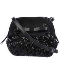 eefb379cb36f Kate Spade - Small Scotty Riva Road Sequins Bag Black - Lyst
