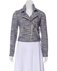 Sachin & Babi - Short Tweed Jacket Navy - Lyst