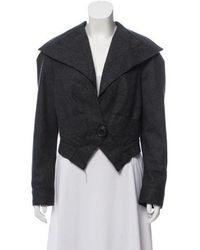 Vivienne Westwood - Asymmetrical Wool Jacket Grey - Lyst