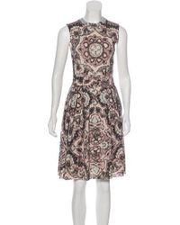 Dior - Knee-length Dress Beige - Lyst