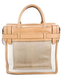 Reed Krakoff - Snakeskin Inside Out Tote Tan - Lyst