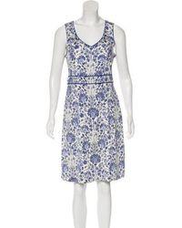 Tory Burch - Silk Knee-length Dress - Lyst