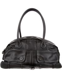 Jean Paul Gaultier - Leather Trench Bag Black - Lyst
