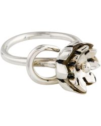 Pamela Love - Small Anemone Ring Silver - Lyst