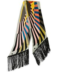 Givenchy - Silk Abstract Scarf W/ Tags - Lyst