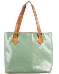 Louis Vuitton - Vernis Houston Tote Brass - Lyst
