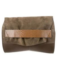 Narciso Rodriguez - Python-accented Jaq Bag Green - Lyst