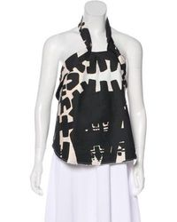 Isabel Marant - Halter Sleeveless Top - Lyst