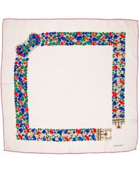 Cartier - Tutti Frutti Patterned Silk Scarf - Lyst