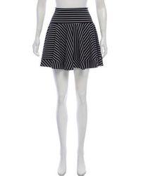 Torn By Ronny Kobo - Striped Mini Skirt - Lyst
