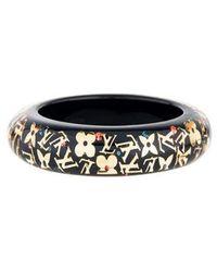 Louis Vuitton - Large Inclusion Bracelet Gold - Lyst