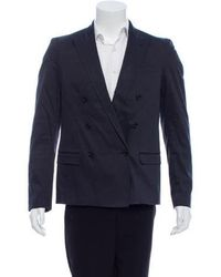 CoSTUME NATIONAL - Double-breasted Peak-lapel Blazer - Lyst
