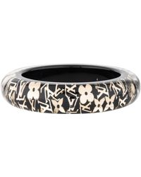 Louis Vuitton - Wide Inclusion Bangle Gold - Lyst