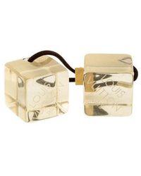 Louis Vuitton - Logo Hair Cubes - Lyst