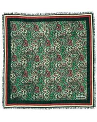Cacharel - Wool Paisley Scarf - Lyst