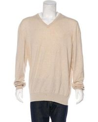 1196e4b2701f Lyst - Loro Piana Baby Cashmere Cable-knit Sweater Beige in Natural ...