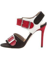 Chrissie Morris - Ida Leather Sandals W/ Tags - Lyst