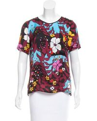 TOME - Surplice Printed T-shirt Multicolor - Lyst