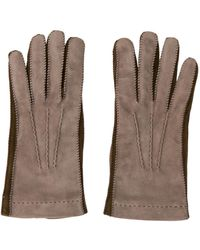 Loro Piana - Cashmere-lined Suede Gloves Neutrals - Lyst