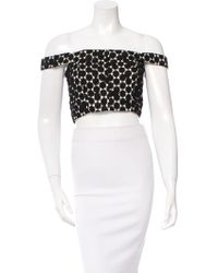 Katie Ermilio - Silk Lace Top W/ Tags - Lyst