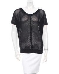 Vanessa Bruno - Net Knit Sweater - Lyst
