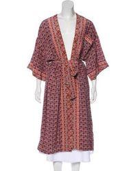 Sea - Silk Kimono Top - Lyst