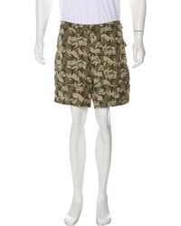 Patagonia - Camouflage Print Shorts Olive - Lyst
