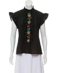 Banjanan - Morgan Short Sleeve Shirt W/ Tags - Lyst