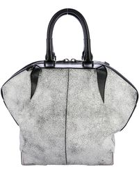 Alexander Wang - Emile Leather Satchel White - Lyst