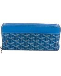 Goyard - Matignon Ine Wallet Blue - Lyst