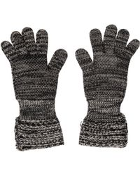 Missoni - Cashmere Knit Gloves Grey - Lyst