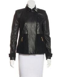 Icb - Wool-blend Jacket - Lyst