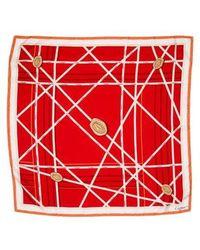 Cartier - Silk Monogram Scarf - Lyst