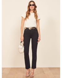 Reformation - Stevie Ultra High Rise Jean - Lyst