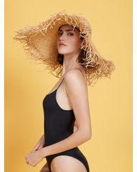 Reformation - Frayed Sun Hat - Lyst