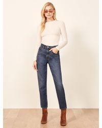 Reformation - 90's Mom Jean - Lyst